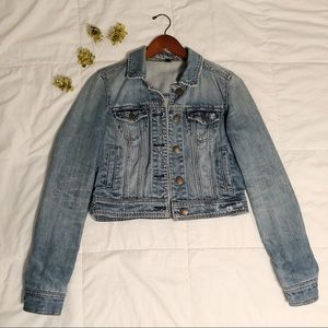 Cropped Jean Jacket from American Eagle